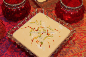 Instant Pot Basundi / Thickened Sweet Milk Dessert