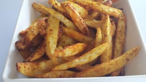 INDIAN STYLE FRENCH FRIES