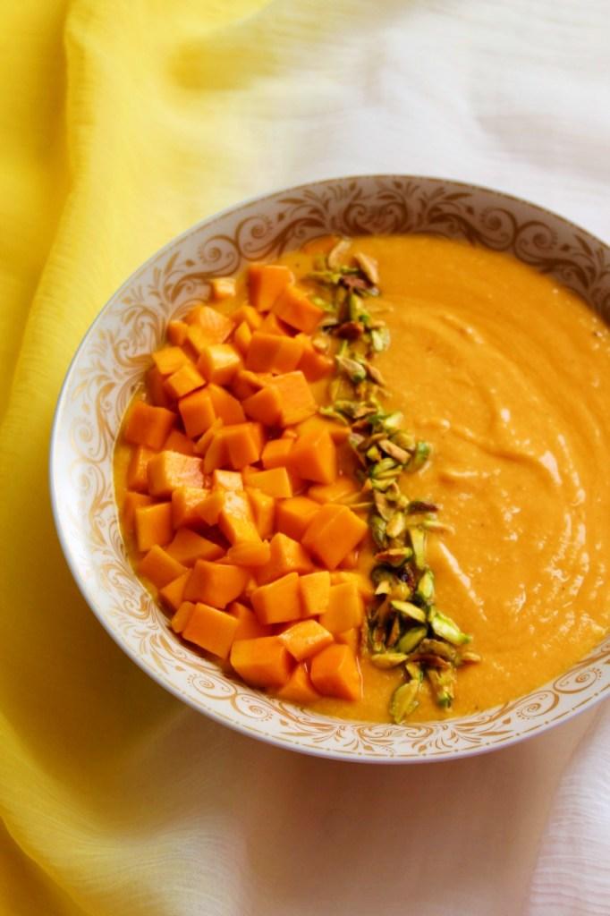 Mango Phirni / Rice Pudding Instant Pot