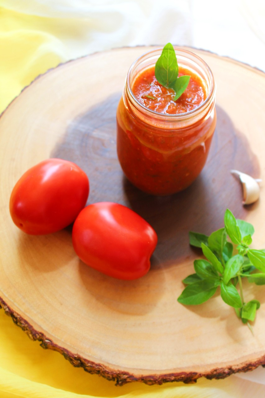 Marinara sauce with fresh tomatoes – Instant Pot