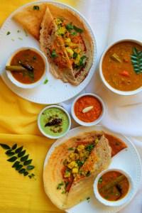 Quinoa Mysore Masala Dosa