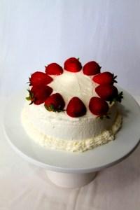 Instant Pot Strawberry Cake