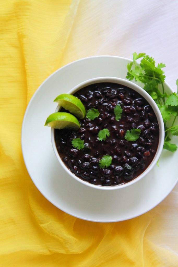 Mexican Black Beans Instant Pot