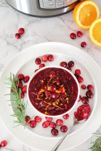 Homemade Cranberry Sauce – Instant Pot, Stove Top