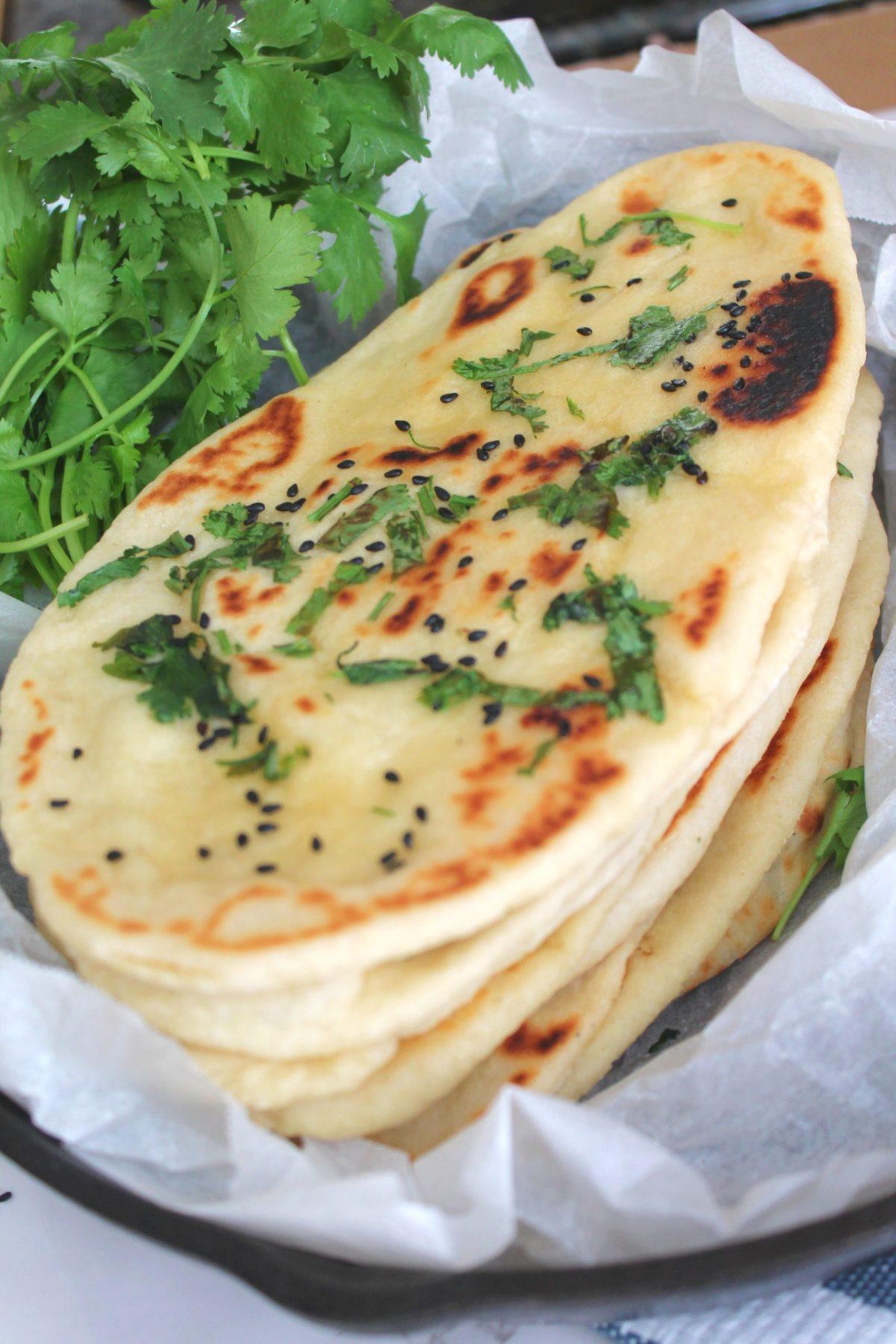 Homemade Naan Bread