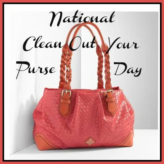 NationalCleanOutYourPurseDay