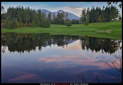 Eagle Lake at TPC Snoqualmie Ridge, October 2013. By Manju Shekhar