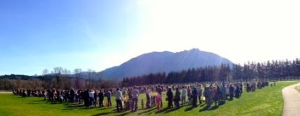 2013 Snoqualmie Easter Egg Hunt at Centennial Fields.