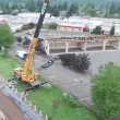 VIDEO | Watch progress on Mount Si High School rebuild, construction update