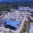New School Rising: Mount Si High School steel framework goes up; SES gym expansion starts soon
