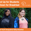 'Stand Up for Students, Sit Down for Breakfast': help Friends of Youth get mental health counselor in every Snoqualmie Valley school
