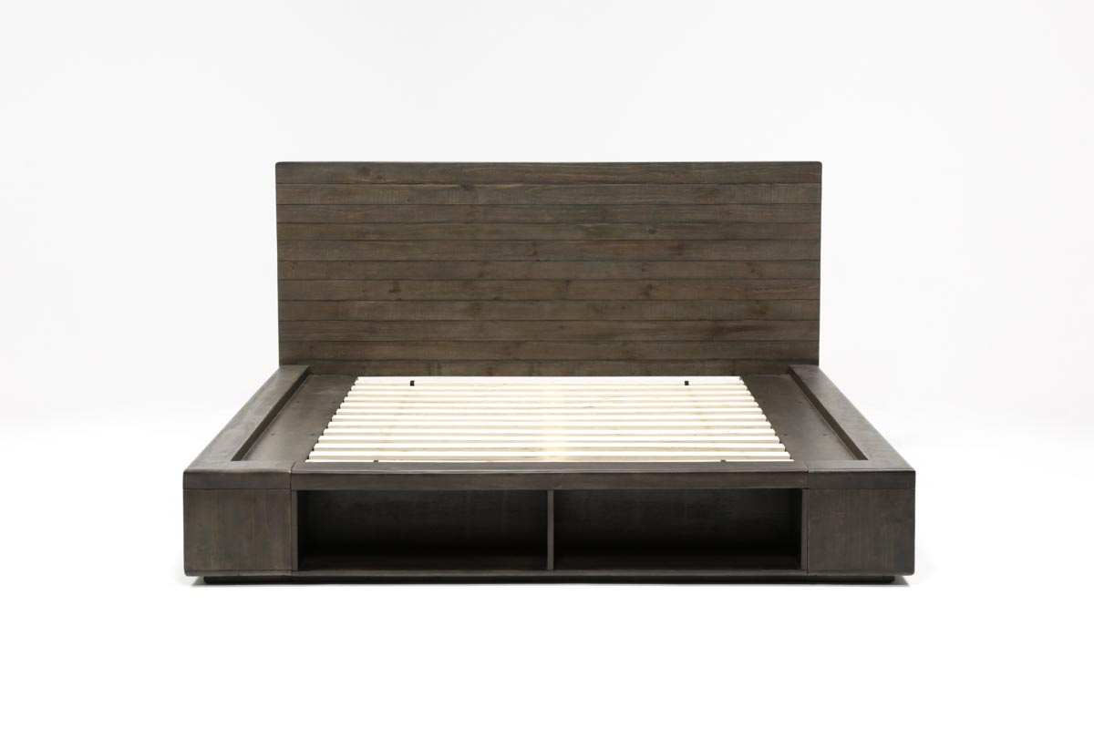 Dylan California King Platform Bed 360
