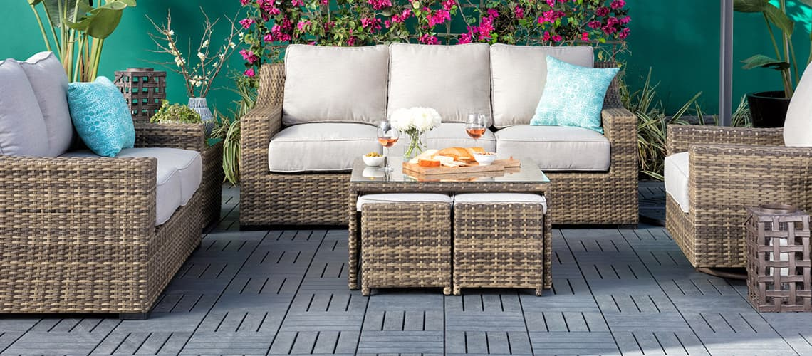 Small Backyard Ideas on a Budget: Affordable Outdoor Decor ... on Small Backyard Living Spaces  id=34671