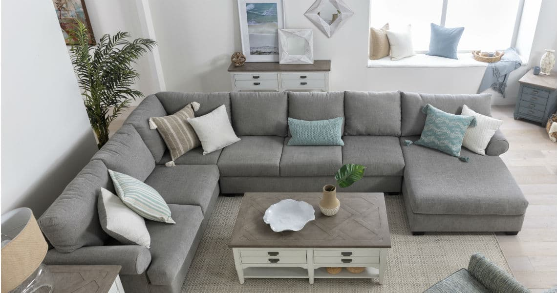 Grey Sectionals Sectional Sofas Living Spaces