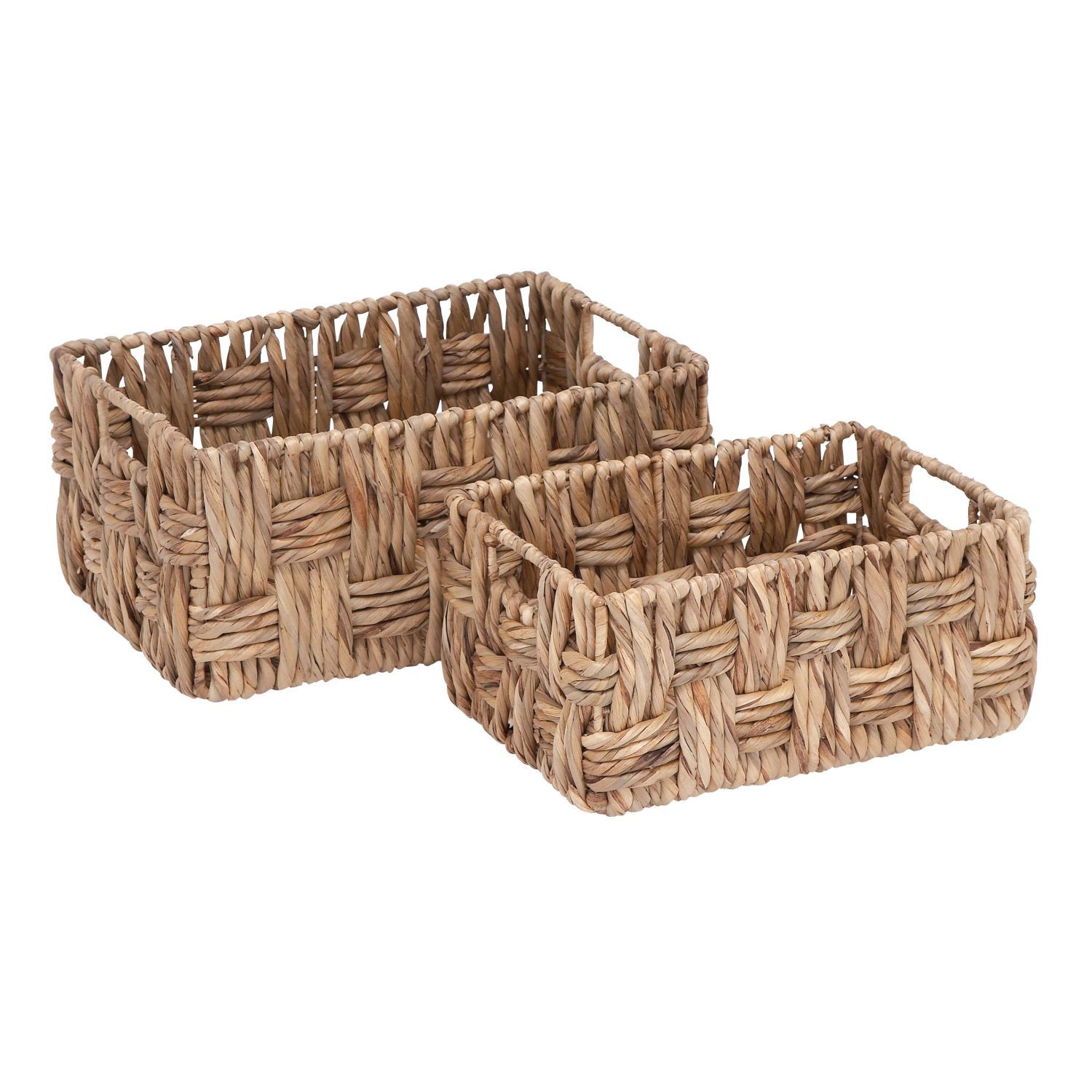 Decorative Baskets to Fit Your Home Decor   Living Spaces Display product reviews for METAL WICKER BASKETS