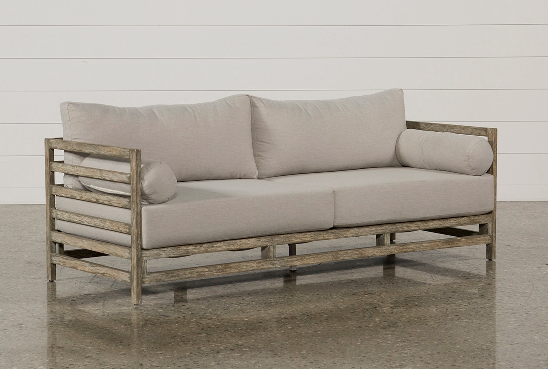 Outdoor Pompeii Sofa   Living Spaces on Living Spaces Outdoor Sectional id=27609