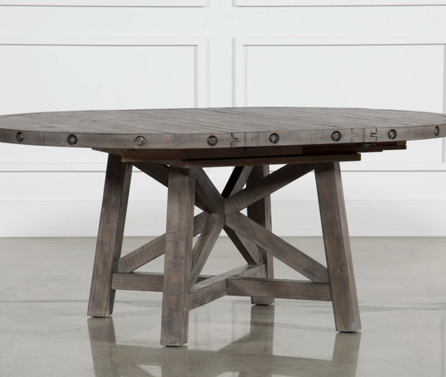 Jaxon Grey Round Extension Dining Table Qty 1 Has Been Successfully Added To Your Cart