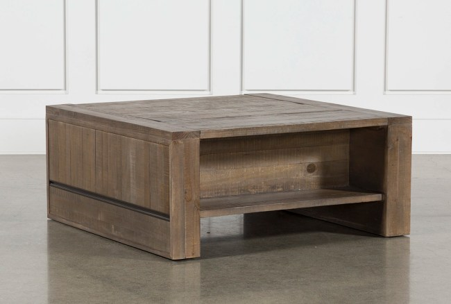 Lassen Square Lift Top Coffee Table Living Spaces