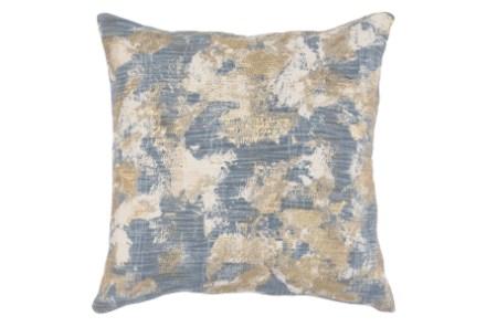 blue decorative pillows living spaces