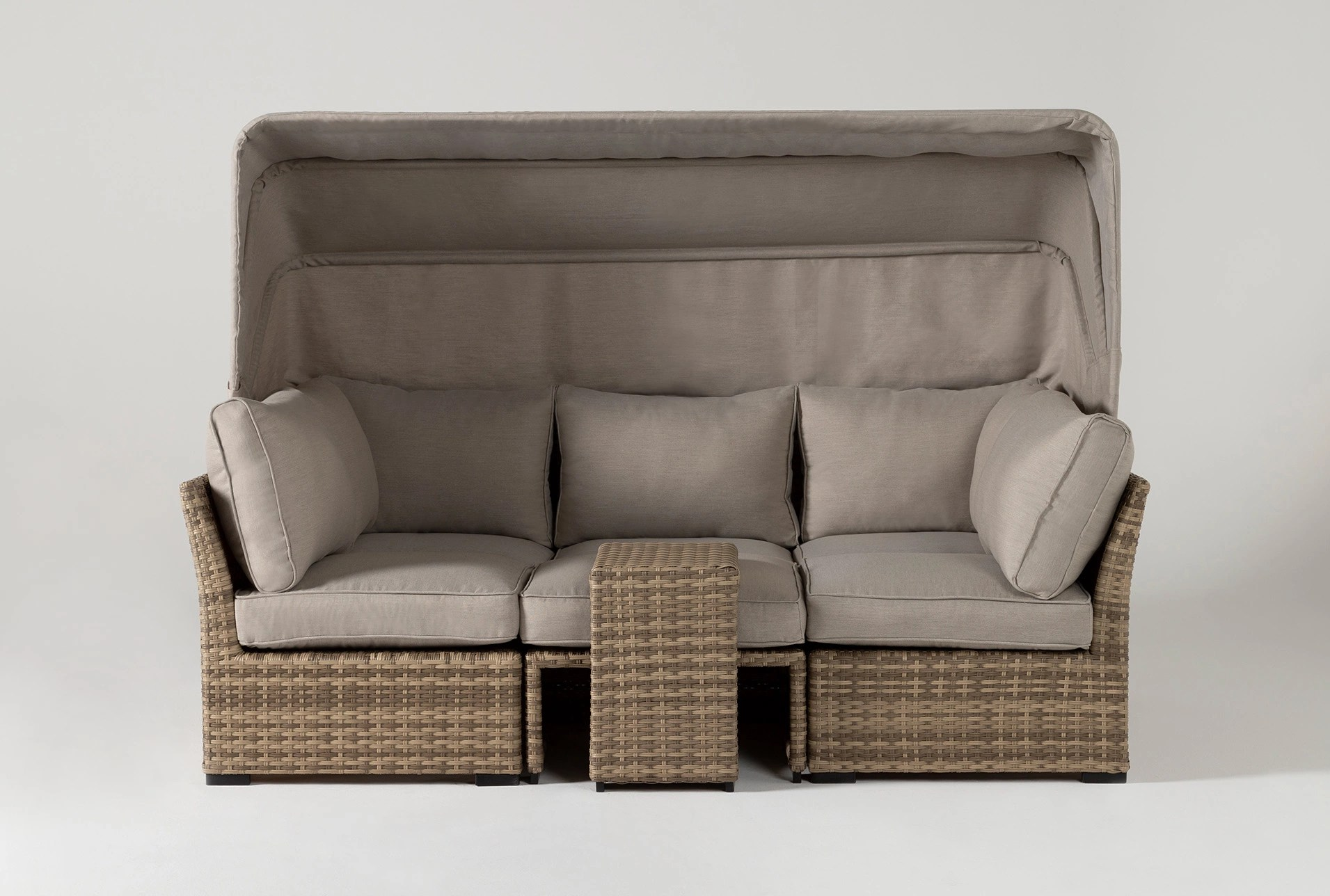 Capri Outdoor Daybed | Living Spaces on Living Spaces Outdoor Daybed id=49889