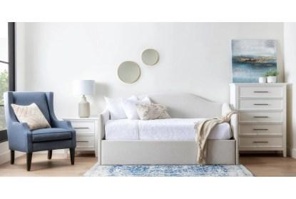 dawson white twin 4 piece bedroom set