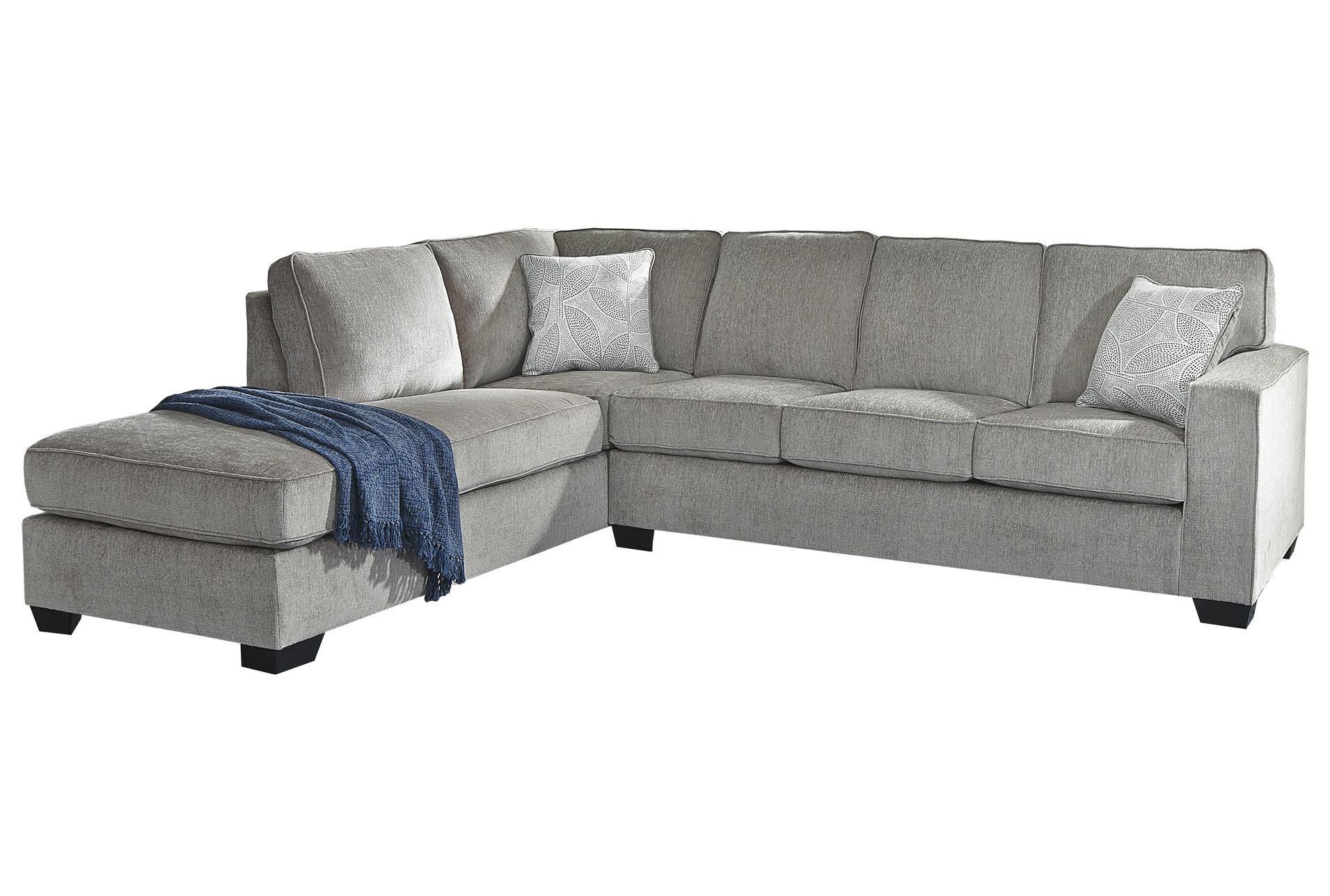 altari alloy 2 piece 110 sectional with left arm facing chaise