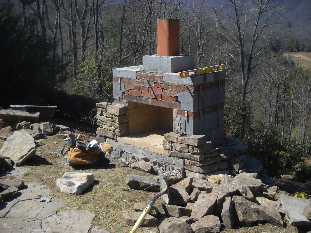 stonetutorials - Living Stone Masonry on Building Your Own Outdoor Fireplace id=80836