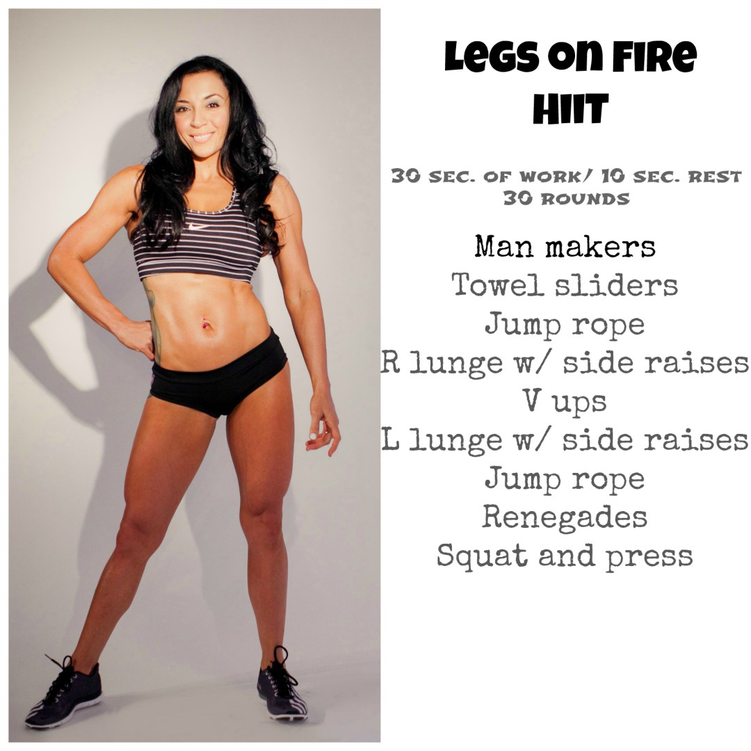 GWOD #2 Legs on fire Hiit