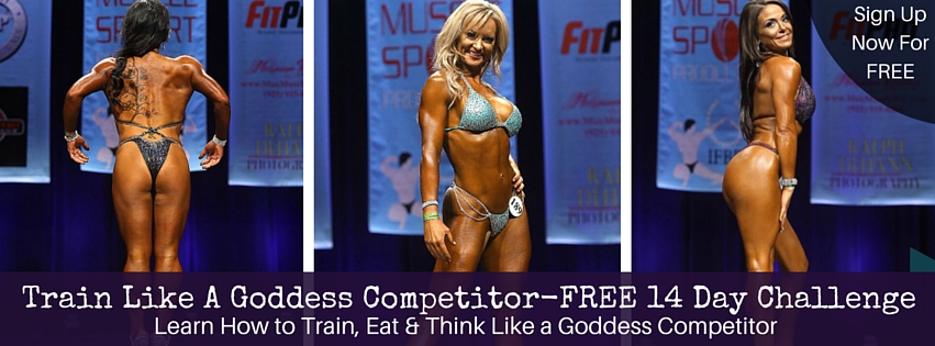 Train Like A Goddess Competitor