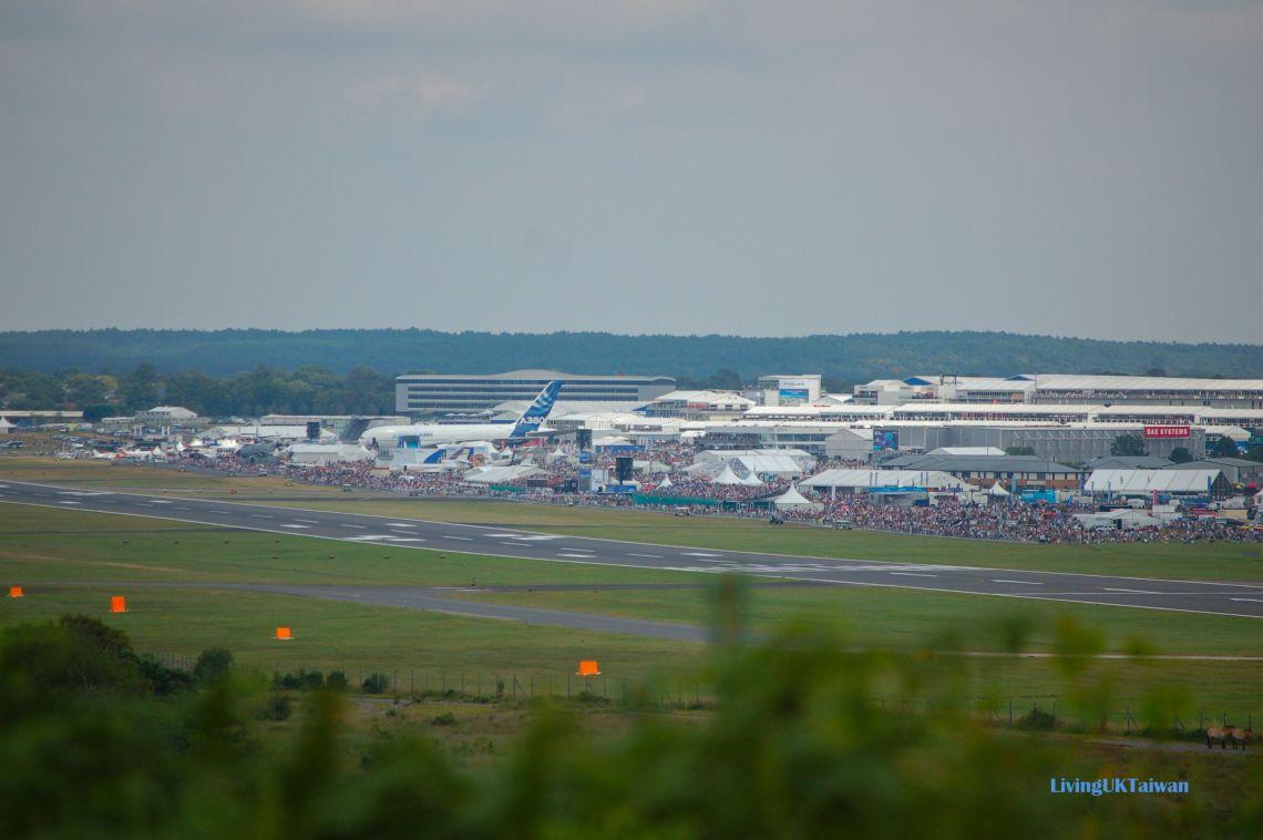 A380 at the Farnborough Air Show
