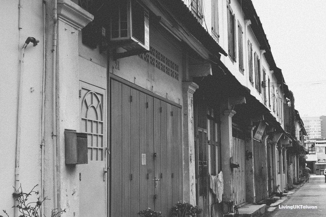 Doors in Malacca, Malaysia