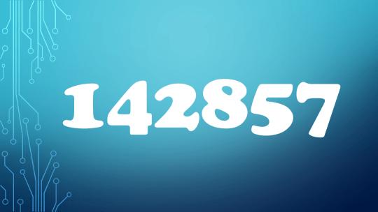 Beautiful numbers 數字的美麗