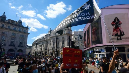 612 rally in London – fighting for Hong Kong