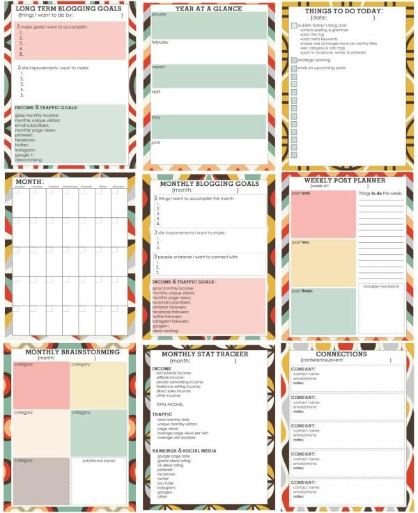 free printables planner # 39