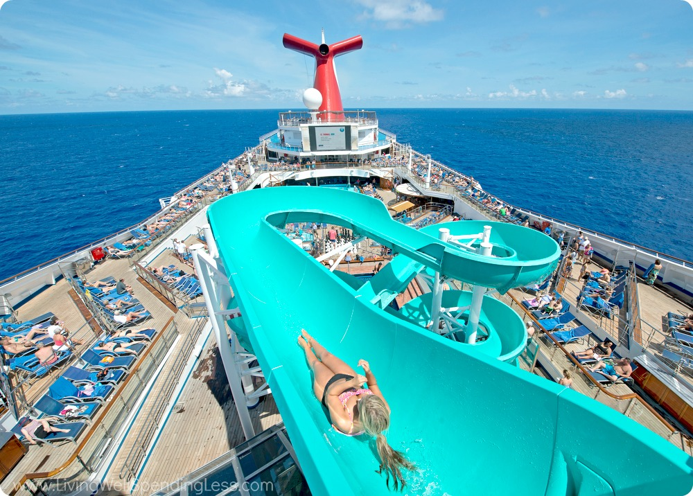 Cruise Ships Water Slides