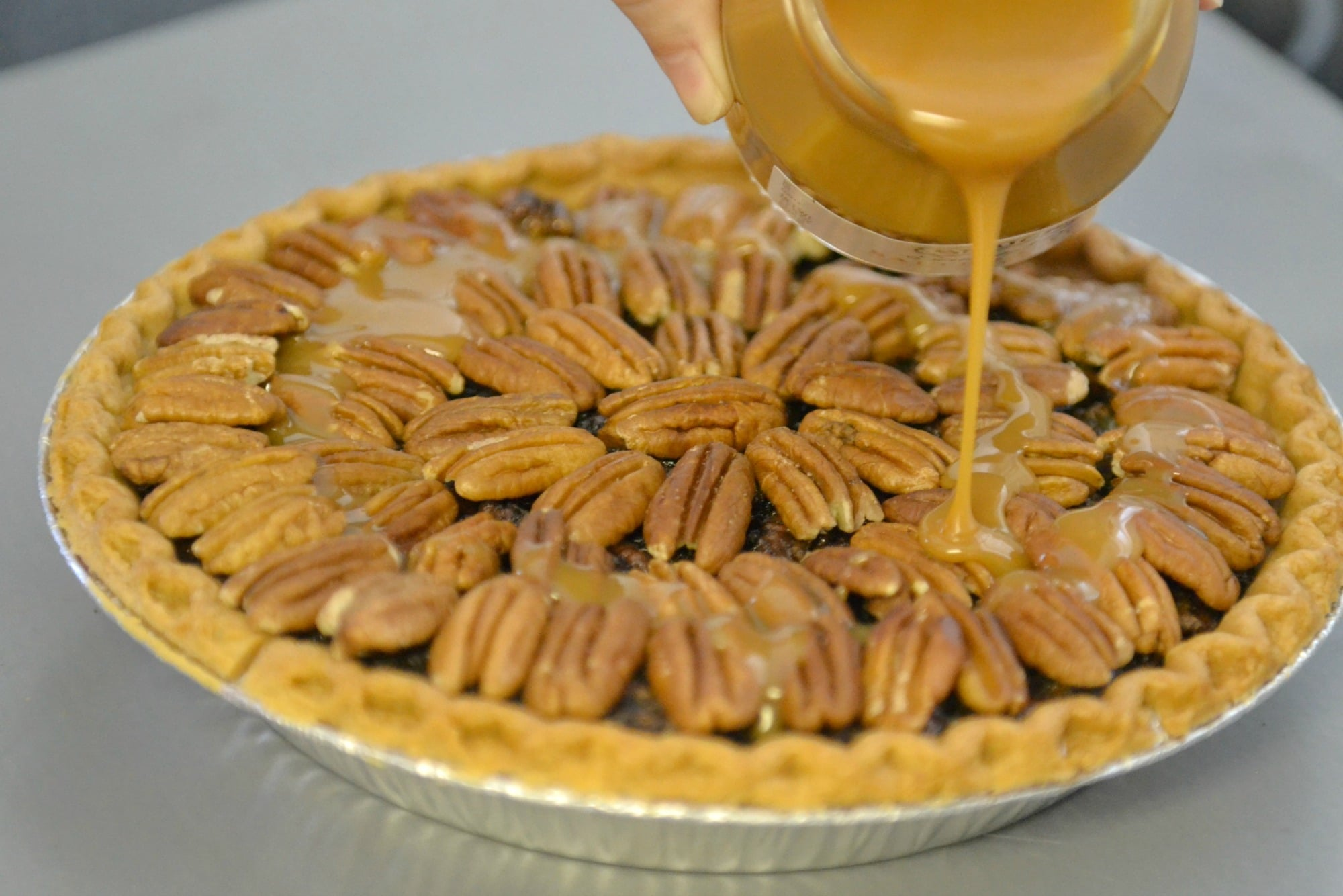 Sea Salt Caramel Pecan Pie
