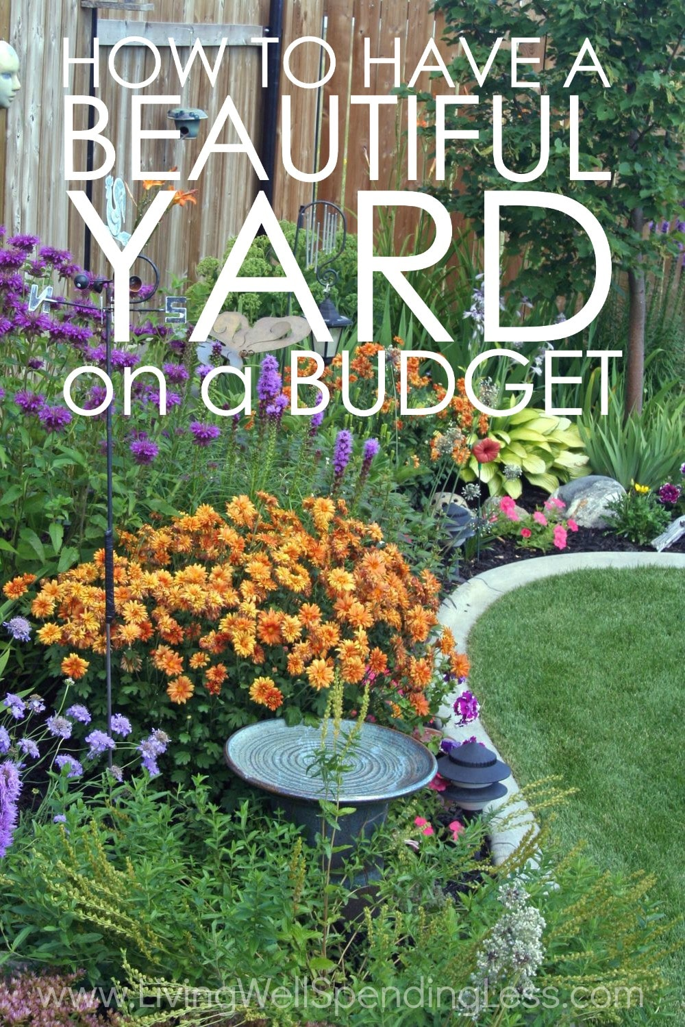 How to Have a Beautiful Yard on a Budget on Cheap Back Garden Ideas id=57349