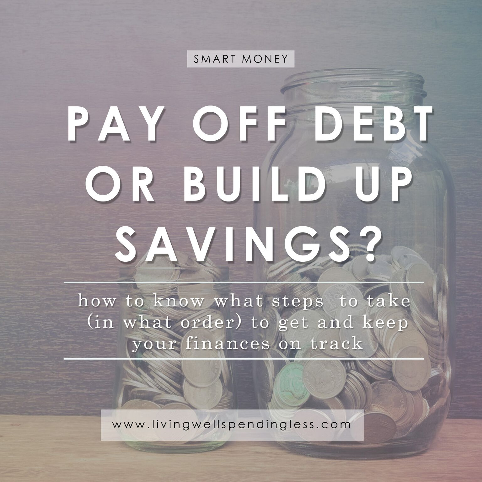 Pay Off Debt Or Build Up Savings