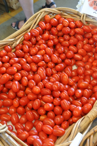 Grape tomatoes Farmers Market with Living With Color Designs