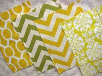 Southern Style Fabric options green and yellow- Living With Color Designs