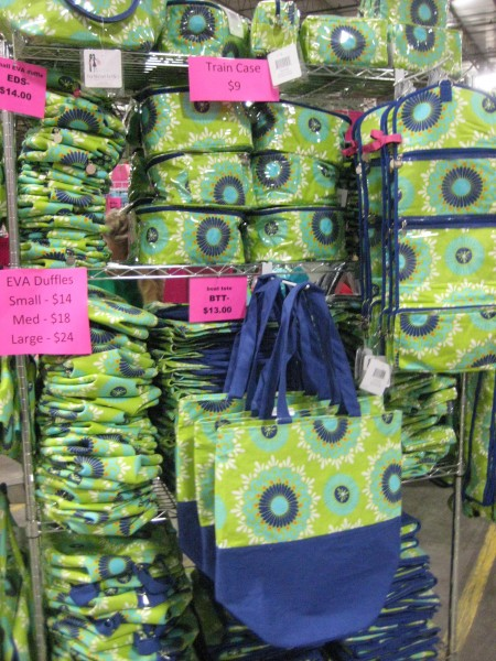 Bargain Chicks Lime and Royal Blue