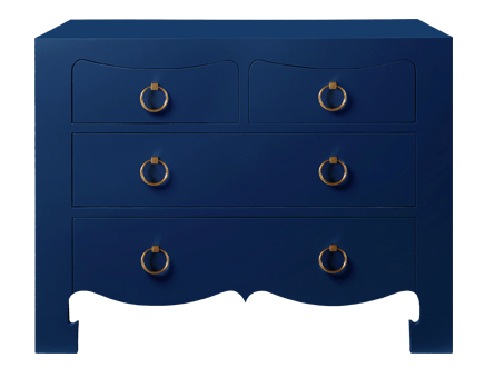 Bungalow 5 Navy Chest- Living With Color Designs