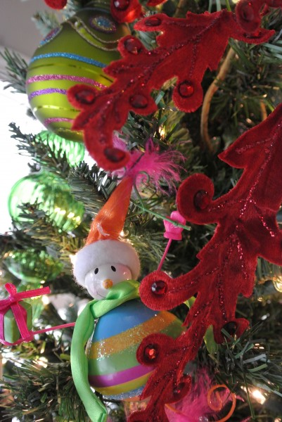 Brightly colored ornament kids will love - Living With Color Designs