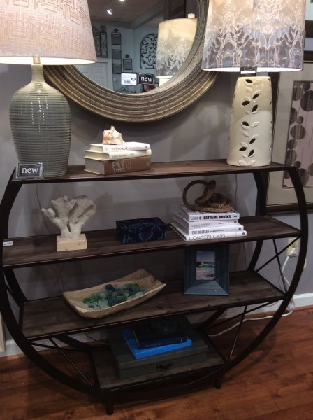 console shelf table - Living With Color Designs