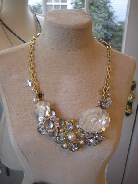 Custom necklace Gale Jewelry - Living With Color Designs