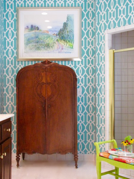 Before and After Master Bathroom Makeover - Living With Color Designs