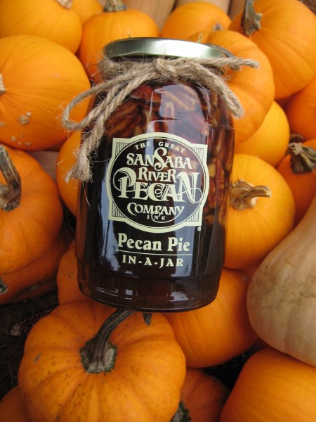 pecan pie in-a-jar -Living With Color Designs Blog