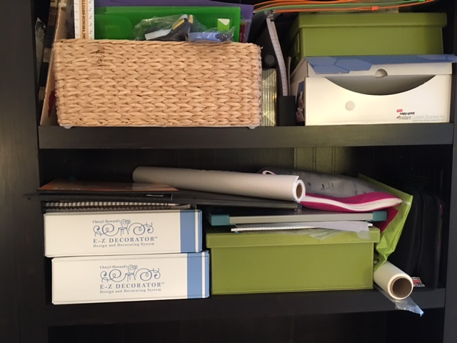 Managing My Stuff Living With Color Designs Blog - Office
