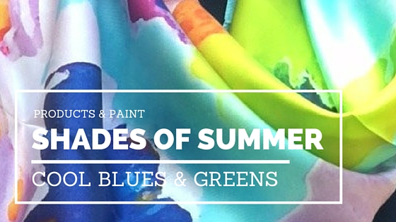 Cool Shades of Summer: Watery Hues Of Blue and Green
