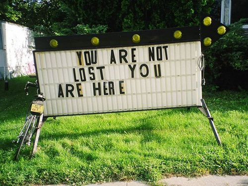 You Are Not Lost(2)